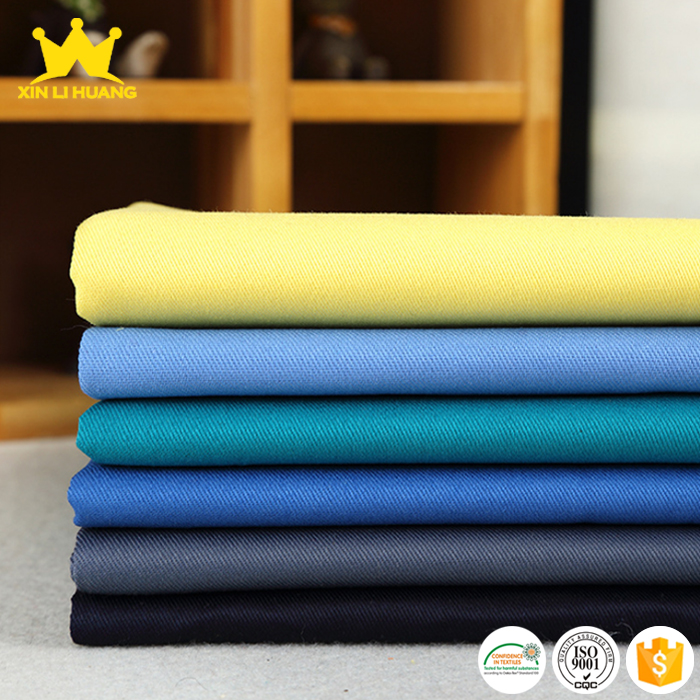 Wholesale Wrinkle Free Twill 100 Cotton Fabric Clothing Fabric