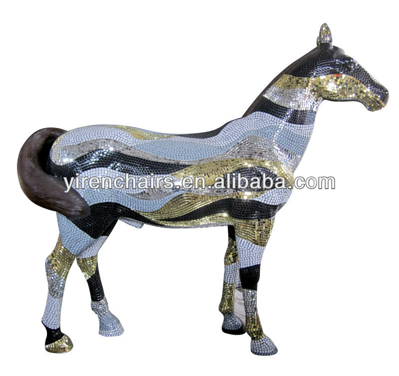 Hot selling new design horse mosaic /home accessories for decoration and furniture
