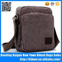 wholesales online cross body small China functional messenger canvas bag with phone case
