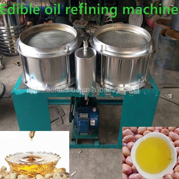 New design soybean oil refining machine with low price