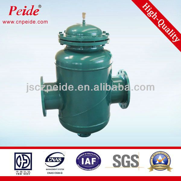 Automatic air exhoust filter water cleaning machine