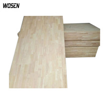 Vietnam rubber wood finger joint wood board for india