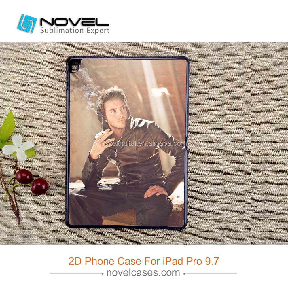 2D Plastic Cell Phones For <strong>iPad</strong> Pro 9.7,Sublimation Diy Blank Cover Case