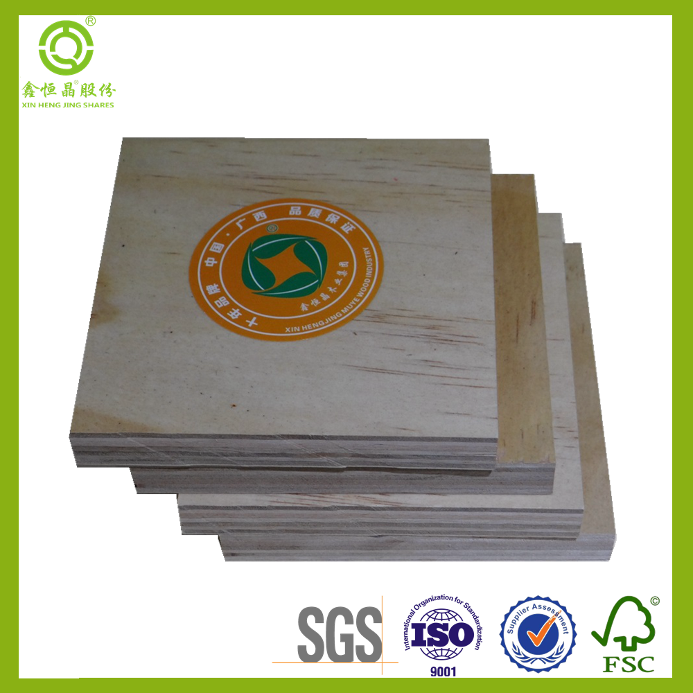 2017 Most Trendy china manufacturer best quality 18mm commercial plywood with recycle system