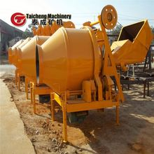portable concrete mixer with plastic drum