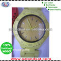 2014 hot sale true bamboo watch with color painting BW20B