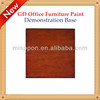 Misppon 2014 hot sale modern office furnitures series mahogany color paint