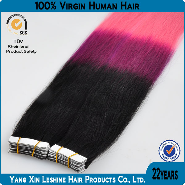Best Selling In Germany Qingdao Wholesale 3 Tone Color Ombre Hair