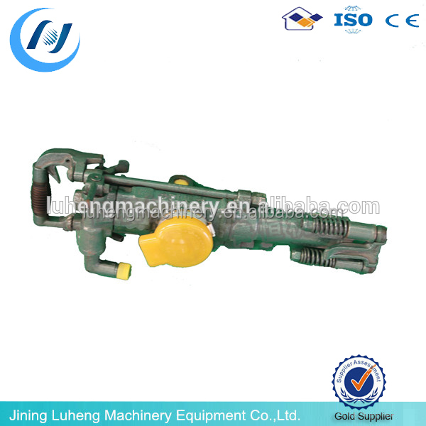 air leg jack hammer YT24 handheld hydraulic rock drill with air leg and air compressor - LUHENG