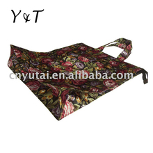 Polyester tote bag with full lining