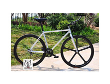 700C 5 spokes FIXIE BIKE/FIXED GEARED BICYCLE