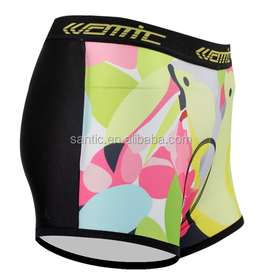 In Stock Sublimation Lady's Cycling under shorts,Women mens compression cycling shorts