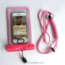 TPU / PVC Swimming Cell Mobile Phone Waterproof Case for Iphone