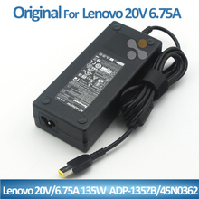 135W New Laptop AC Adapter Charger Power For Lenovo Y40-70 Y50-70 20V 6.75A Power Adapter