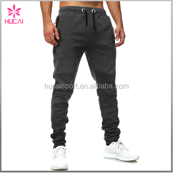 OEM Stylished Track Pants Polyester Spandex Anthrazit Jogger Pants Man