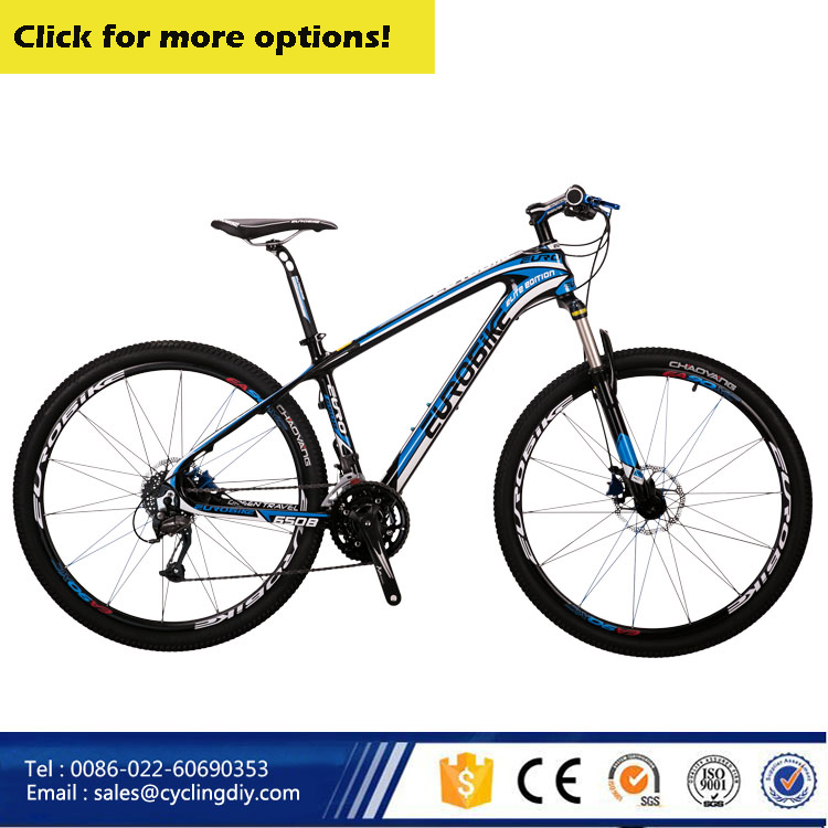 2016 new design carbon fiber mountain bike 27.5