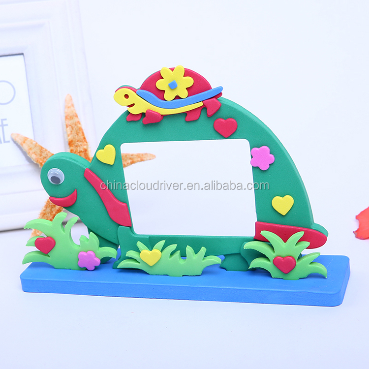 Customized Educational Handmade EVA Photo Frame