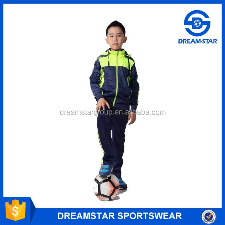 Wholesale High Quality Soccer Jacket No Logo