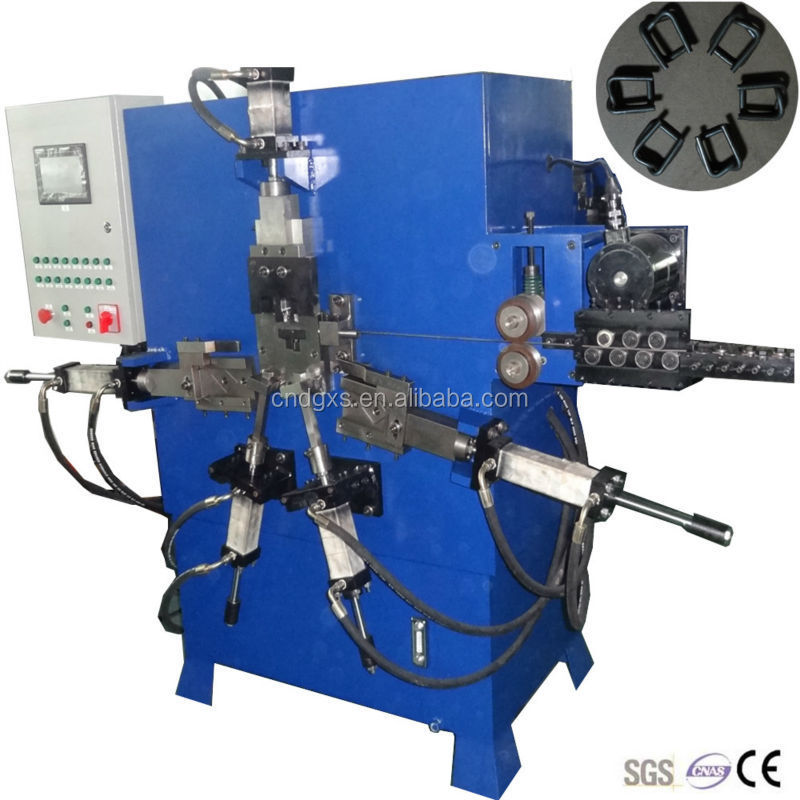 Strapping Wire Buckle Making Machine