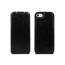 Crazy Horse PU Leather Flip Cover Case for Apple iPhone 5 5S