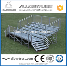 Factory price cheap retractable folding bleachers for stadium
