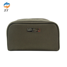 Dirt resistant travel cosmetic bag with compartments