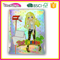 Special beauty paper stationery file folder