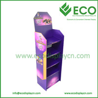 4 Shelves Customized POS Chocolate Customized Displaying Unit Wholesale