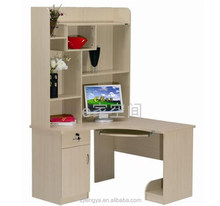 Tengya Office Furniture China Supplier Computer Desk Assembly with Bookshelf