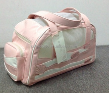 Top Quality Lovely Pink Shell Dog Bag Pet Carrier