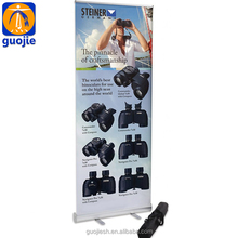 waterproof fitness roll up banner stand,fitness roll up banner display design size