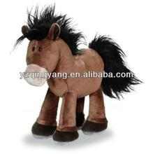 2014 new arrival wholesale stuffed animal cute and popular soft plush horse toy