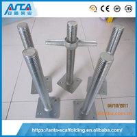 Manufacturer Supplier adjustable base jack scaffolding supporting scaffold for details