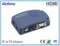 New arrival VGA to AV Converter Supports NTSC PAL system Factory supplier