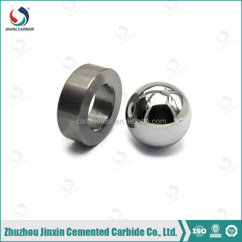 Water dispenser solenoid valve electric water valve high wear-resistance carbide ball for oil-field