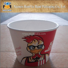 Custom design printed KFC paper burger box