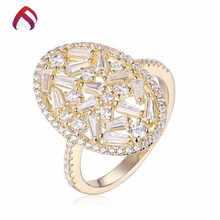 China manufacturer wholesale jewelry latest gold plated rings design for women