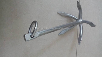 fishboat five claw anchor Inflate boat anchor boat anchor yatch anchor