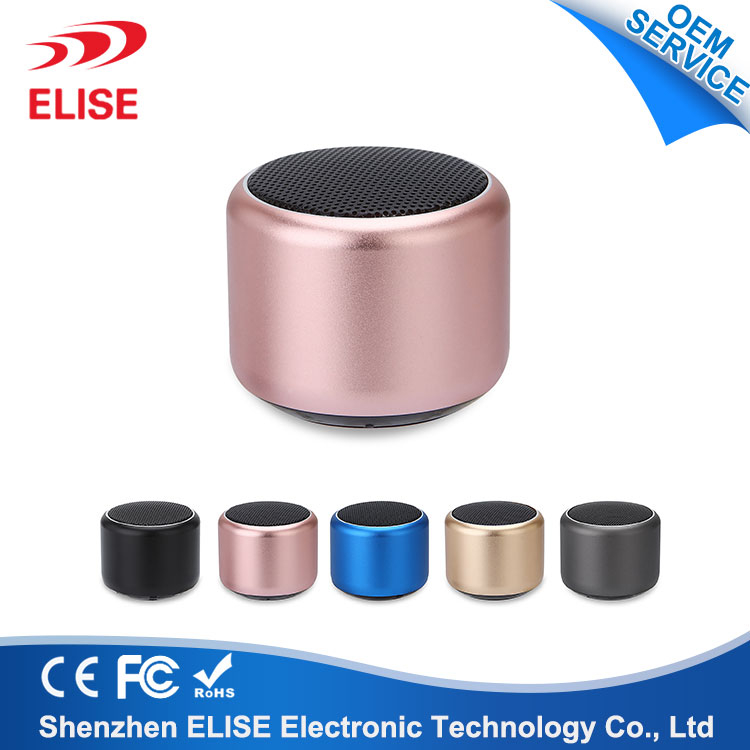 2018 New Arrival Laptop Home Mobile Phone Metal Small Micro Smart Speakers For House