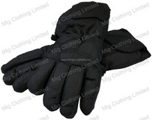Electric battery heated gloves for motorcycle riders