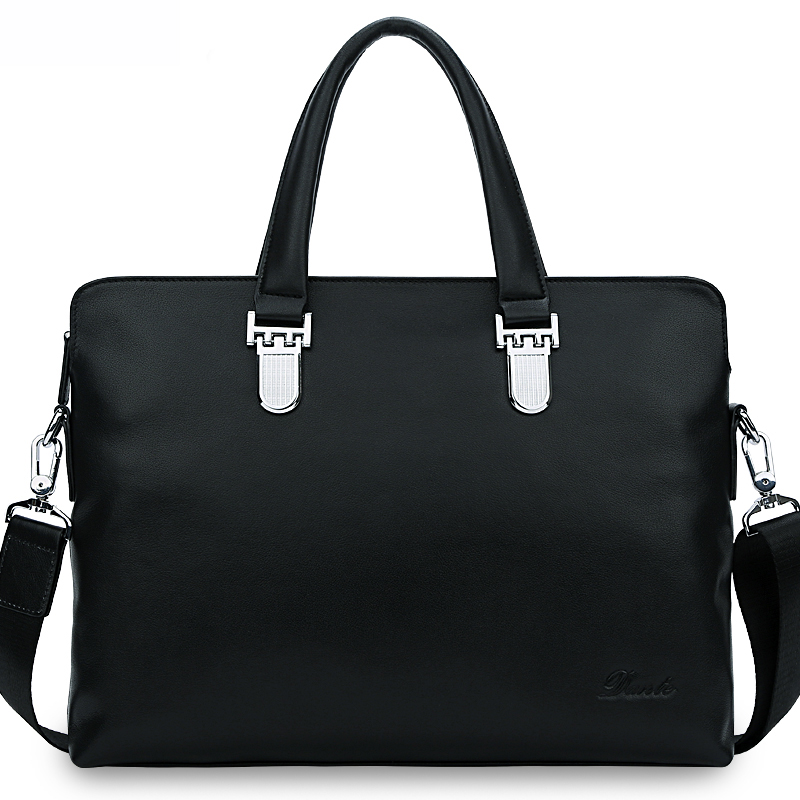 Dante Hard Mini Top Grain Leather Briefcase Bag