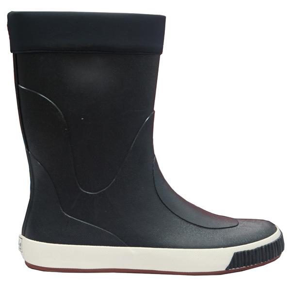 Long Leg Sailing Boots Flat Bottom Rubber Boots Sperry