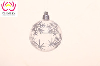 Personalized Christmas Transparent Ball For Christmas Tree Decorations