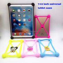 New style silicone cartoon universal tablet case for kids