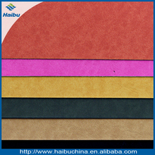PU leather for shoes, bags, rub the surface, color is changed