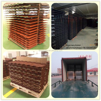 Popular in nigeria 0.4mm Stone Coated Metal Roof Tile Manufacturer