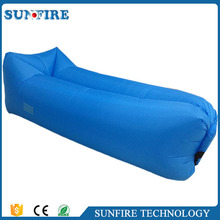 Wholesale fast inflatable sofa camping laybag lay's bag