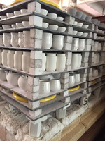 Ceramic SiC Stands, silicon carbide kiln shelves/slabs/plates/posts for firing pottery ware