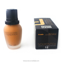 30ml Makeup Foundation Smooth Lasting Waterproof Sunscreen Liquid Foundation