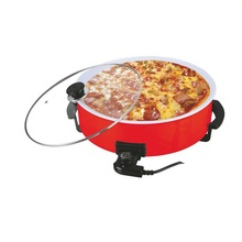 Ceramic coating electric hot pot grill with Adjustable Thermostat